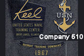 U.S. Navy - Recruit Training Command - Company 510 - Great Lakes - 1967